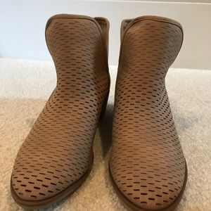 Merona Tan Boots, Size 7